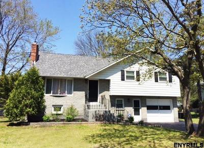 Schenectady Single Family Home Price Change: 513 Chadwick Rd