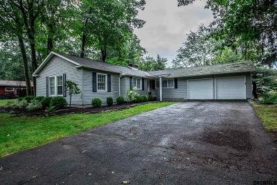 Niskayuna Single Family Home For Sale: 1954 Village Rd