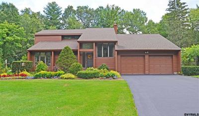 Clifton Park Single Family Home For Sale: 4 Orchard Park Dr