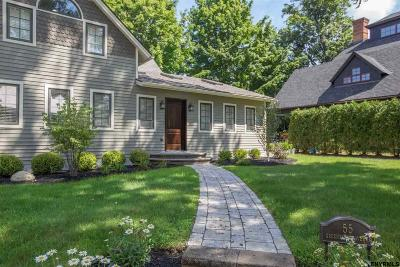 Saratoga Springs Single Family Home For Sale: 55 Greenfield Av