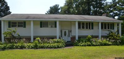 Saratoga County Single Family Home For Sale: 22 Cemetery Rd