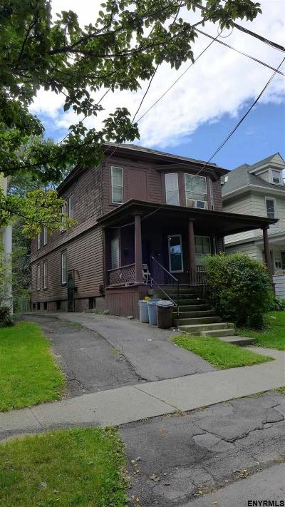 Albany NY Multi Family Home For Sale: $237,500