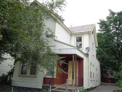 Schenectady Single Family Home For Sale: 317 Victory Av
