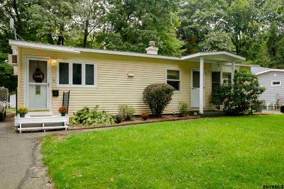 Colonie Single Family Home For Sale: 51 Sherwood Dr