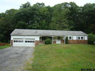 Saratoga County Single Family Home For Sale: 53 Woodstead Rd