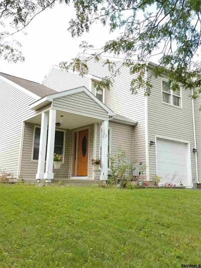 Cohoes Single Family Home For Sale: 7 Cindy Way