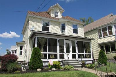 Schenectady Single Family Home New: 911 Wright Av