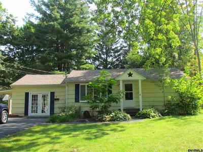 East Greenbush Single Family Home For Sale: 3 Adams Av