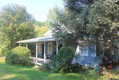 Rensselaer County Single Family Home Back On Market: 4947 Ny Rt 7