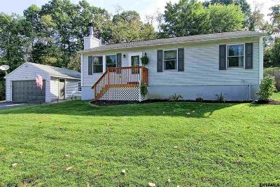 East Greenbush Single Family Home For Sale: 43 Railroad Ave