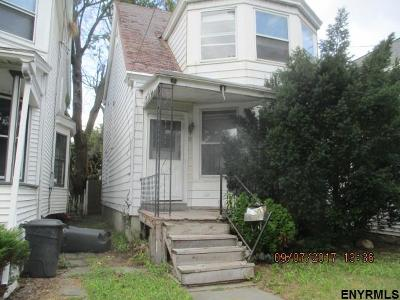 Albany NY Single Family Home For Sale: $91,900