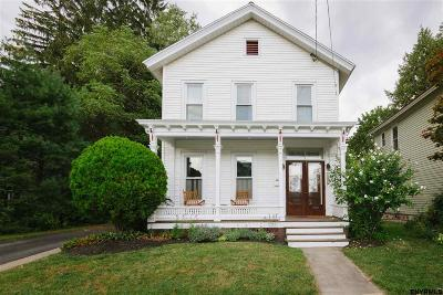 Saratoga Springs Single Family Home New: 137 Lincoln Av