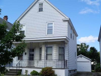 Schenectady Single Family Home For Sale: 1817 Jerome Av