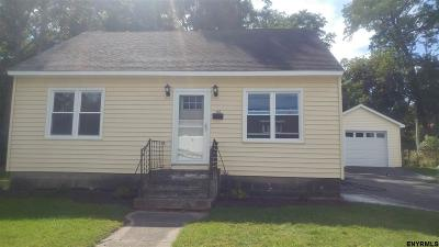 Schenectady Single Family Home New: 116 Pershing Dr