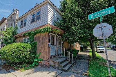 Rensselaer Multi Family Home For Sale: 402 Broadway