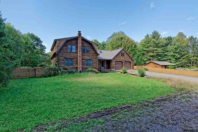 Saratoga County Single Family Home For Sale: 409 Brownville Rd