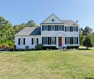Saratoga County Single Family Home For Sale: 7 Hidden Crest Ct