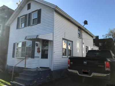 Cohoes Single Family Home For Sale: 204 Columbia St