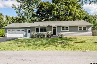 Saratoga Springs Single Family Home For Sale: 4 Crommelin Dr