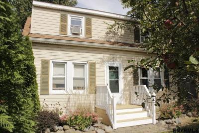 East Greenbush Single Family Home For Sale: 16 Wisconsin Av