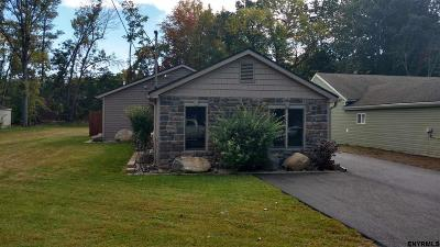 Colonie NY Single Family Home Closed (Final Sale): $184,000