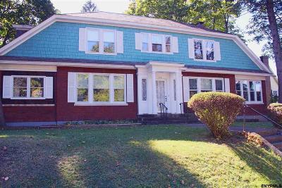 Albany Single Family Home Price Change: 610 Western Av