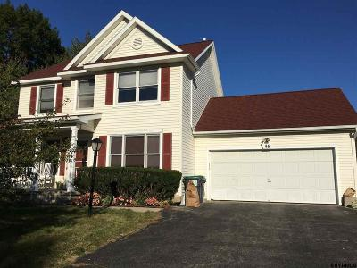 Colonie Single Family Home For Sale: 45 Doorstone Dr South