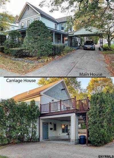 Saratoga Springs Single Family Home For Sale: 153 Union Av