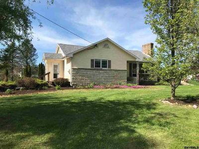 Saratoga County Single Family Home For Sale: 126 Fellows Rd