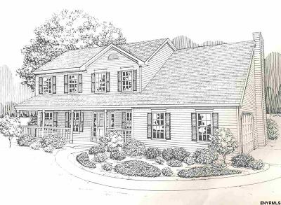 Schenectady County Single Family Home For Sale: Lot 8 Jane Dr