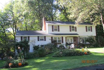 Schenectady County Single Family Home For Sale: 91 Governor Dr