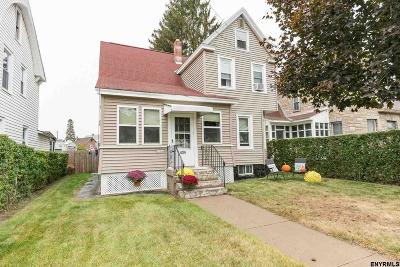 Schenectady Single Family Home For Sale: 434 Eleanor St