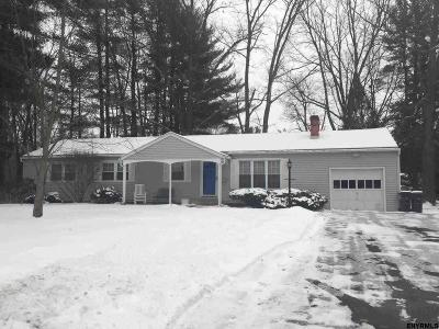 Schenectady County Single Family Home For Sale: 3 Herrick Dr