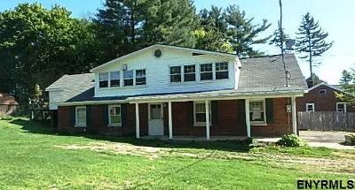 East Greenbush Single Family Home For Sale: 48 Gilligan Rd