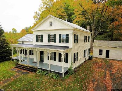 Rensselaer County Single Family Home For Sale: 930 Melrose Valley Falls Rd