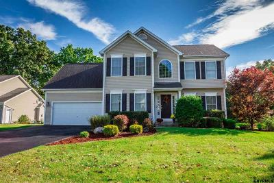 Clifton Park Single Family Home For Sale: 1 Highland Oaks