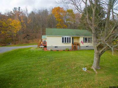 Rensselaer County Single Family Home For Sale: 179 Breese Hollow Rd