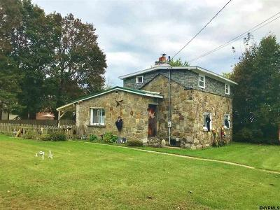 Rensselaer County Single Family Home For Sale: 20 School St