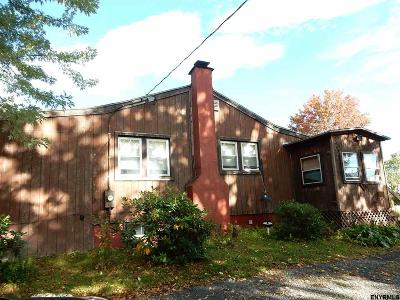 Rensselaer County Single Family Home For Sale: 60 Brick Church Rd