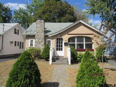 Albany NY Single Family Home For Sale: $144,900