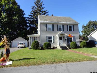 Saratoga County Single Family Home For Sale: 8 Maple Av