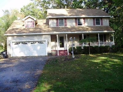 Schenectady County Single Family Home Price Change: 19 Sutherland Dr
