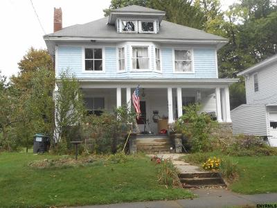Niskayuna Single Family Home For Sale: 41 Ray St