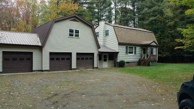 Saratoga County Single Family Home New: 6116 Spring Rd