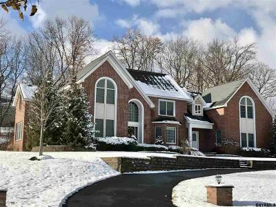 Colonie Single Family Home For Sale: 9 East Hills Blvd