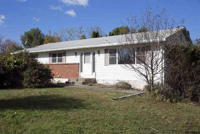 East Greenbush Single Family Home For Sale: 487 Elliot Rd