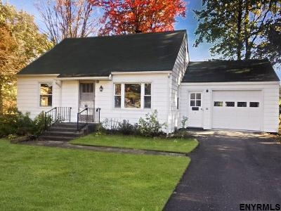 East Greenbush Single Family Home For Sale: 5 Kevin La