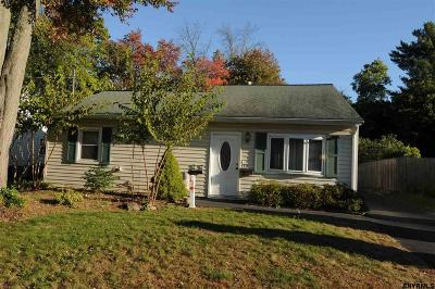 Schenectady County Single Family Home New: 432 Clayton Rd