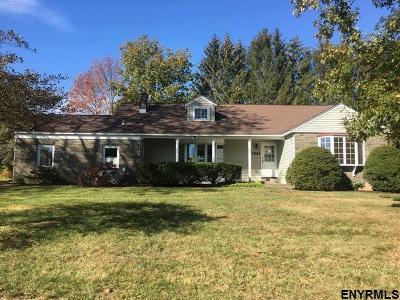 Niskayuna Single Family Home For Sale: 1241 Hawthorn Rd