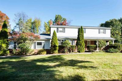 Clifton Park Single Family Home For Sale: 33 Sweet Brier Dr
